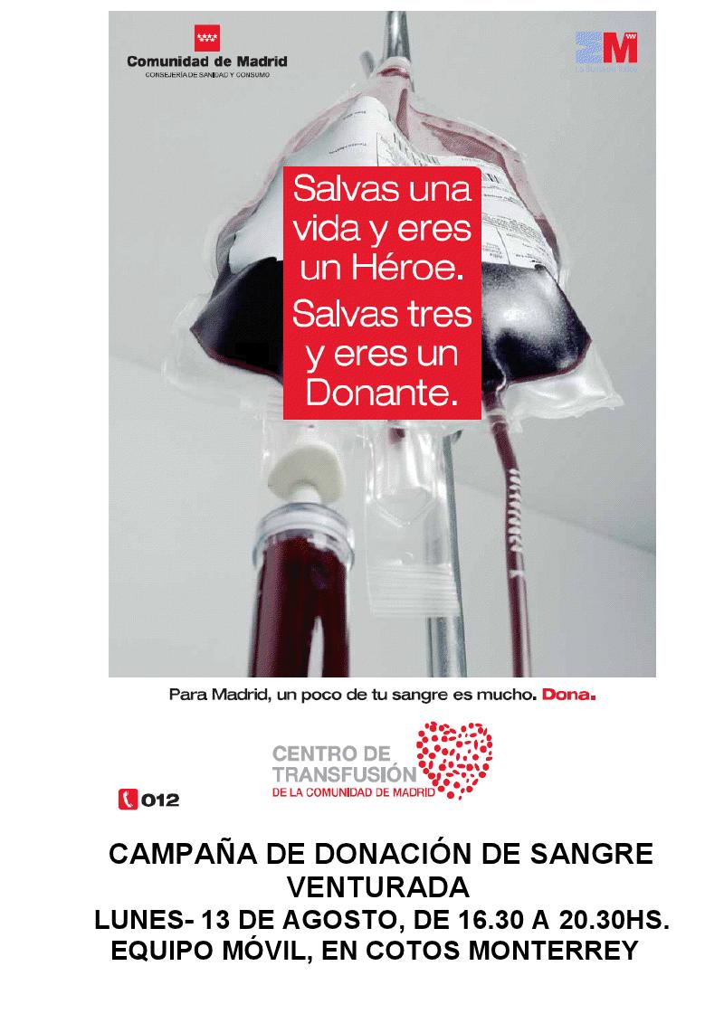 Campaña donación 2012