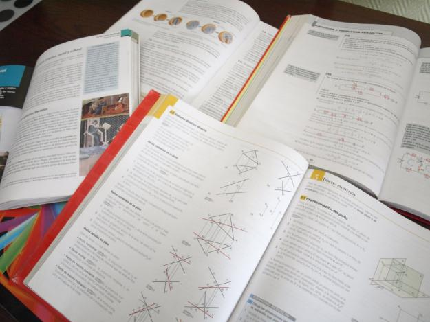 Libros de texto curso 2012-2013