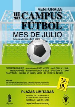 III Campus de Futbol 7 de Venturada