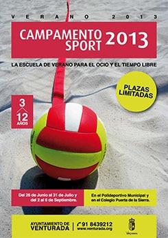 Cartel Campamento Verano 2013