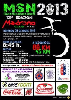 Maratón XIII MTB Sierra Norte 2013