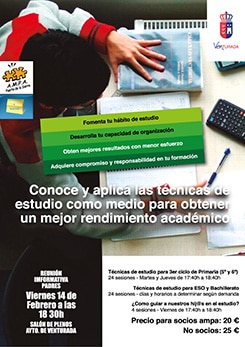 Curso técnicas de estudio en Venturada
