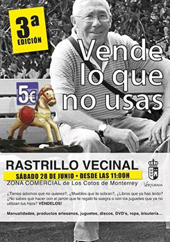 Cartel Rastrillo vecinal 2014