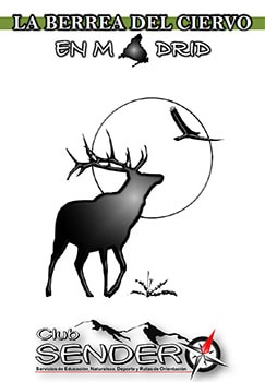 Cartel excursión a la berrea del ciervo en el Pardo