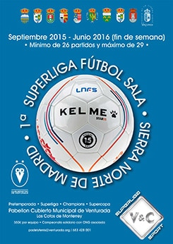 Cartel Super Liga V&C 2015