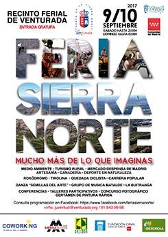 Cartel Feria Sierra Norte 2017