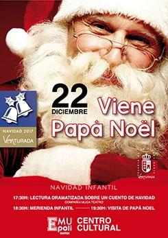 Papá Noel visita Venturada