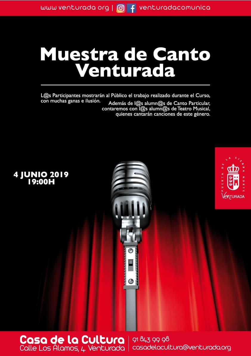 Muestra de Canto 2019